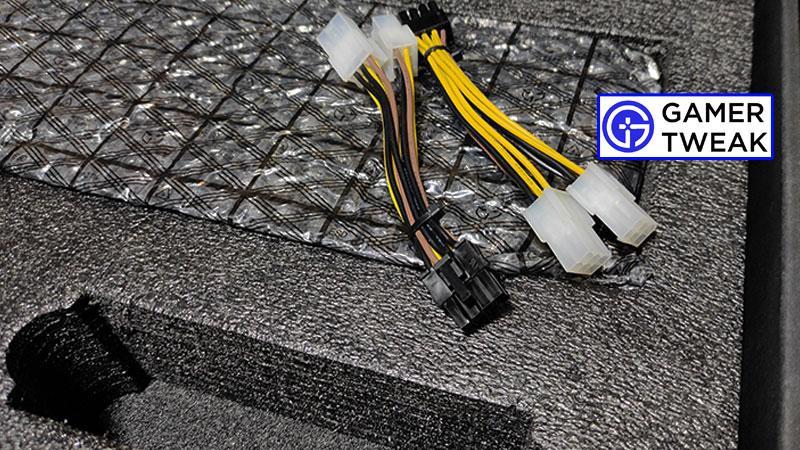 Zotac RTX 3080 Amp Solo Cables