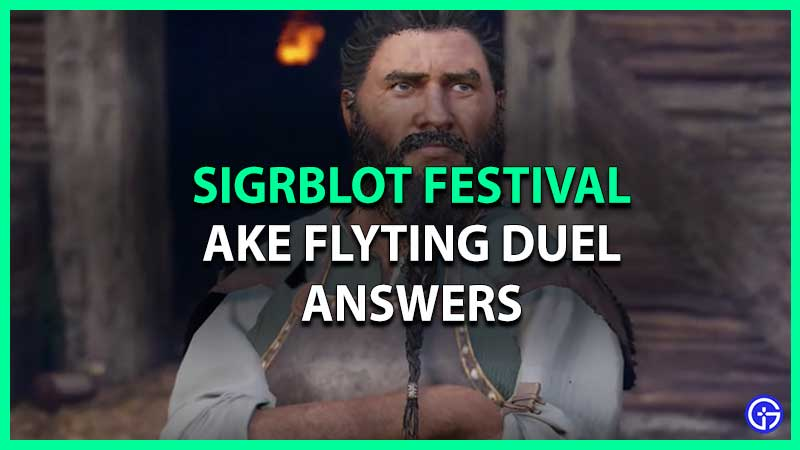 AC Valhalla Sigrblot Festival Fight Or Flyte With Ake All Correct Answers