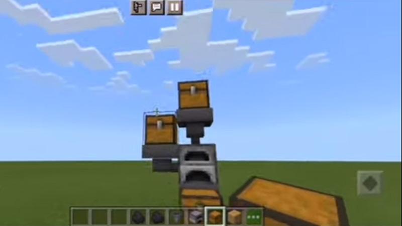 Auto Smelter Minecraft