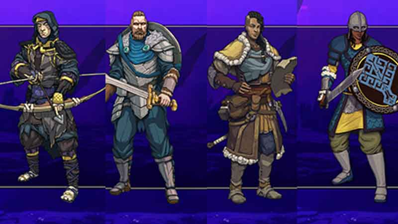 Berserker, Guardian, Hunter, Seer, Sentinel and Warden