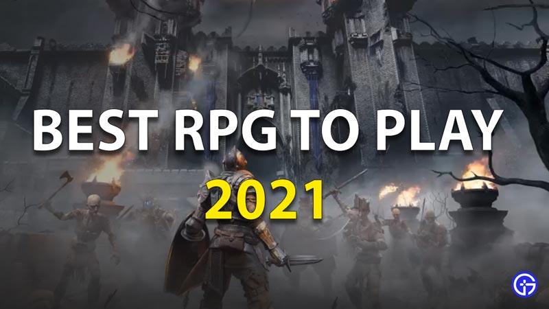 Best RPG in 2021