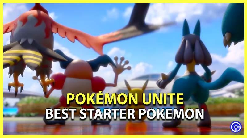 Best Starter Pokemon Unite
