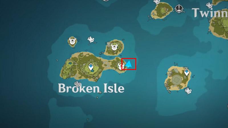 Broken Isle 3 Sea Ganoderma Locations Genshin Impact