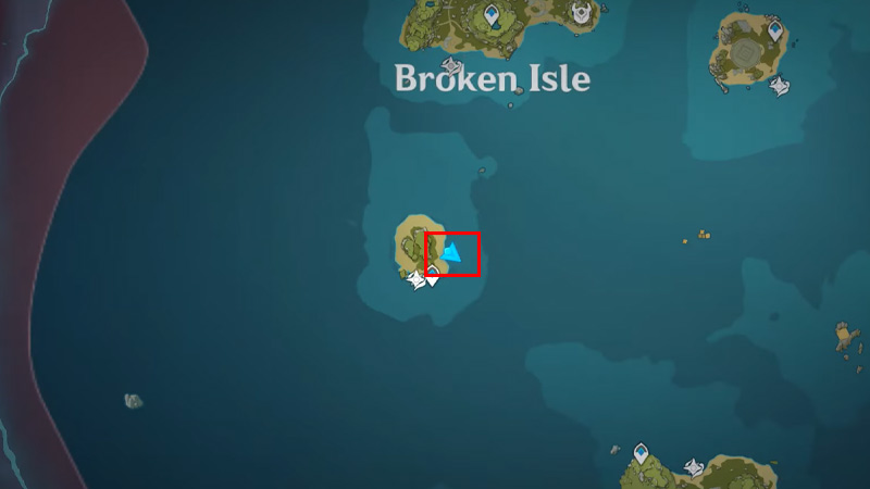 Broken Isle 4 Sea Ganoderma Locations Genshin Impact