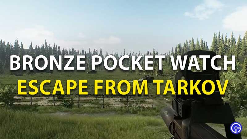 Bronze Pocket Watch Tarkov