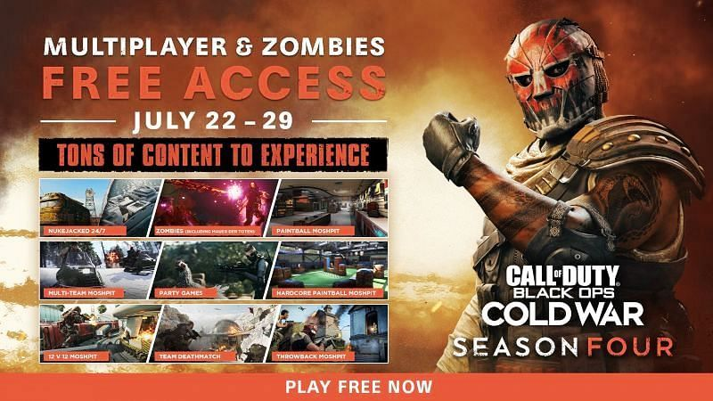 Call of Duty: Black Ops Cold War Free-To-Play