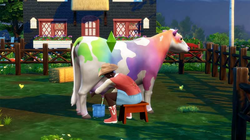 Change Your Animal Colors in Sims Cottage Living