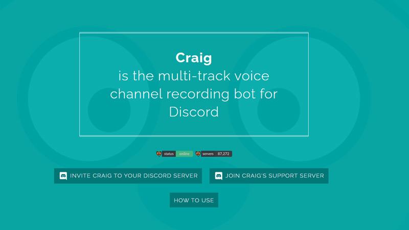 Craig Bot