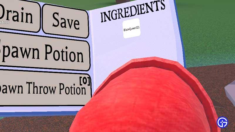 dna potion recipes