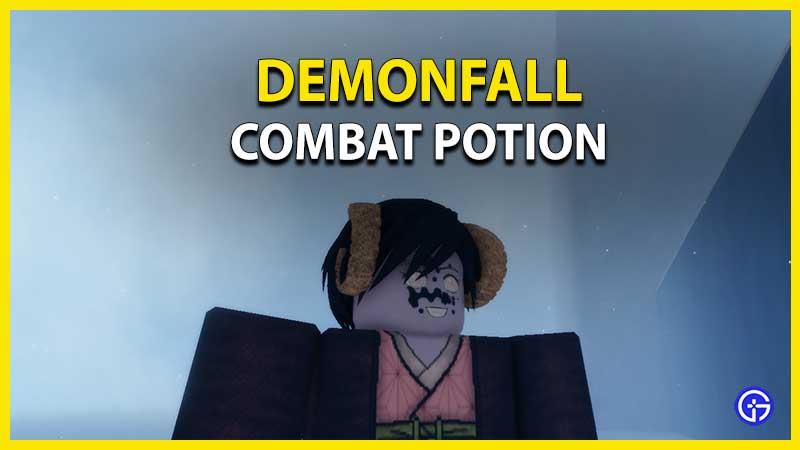 Demonfall Combat Potion Guide