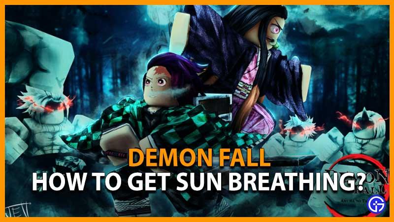 Demonfall Sun Breathing Demon Fall