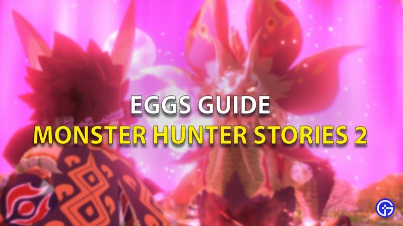 Eggs Guide Monster Hunter Stories 2