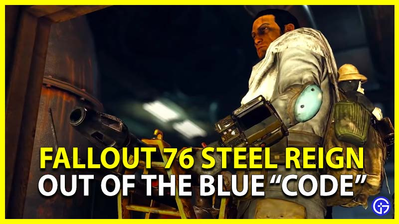Fallout 76 Out Of The Blue Code