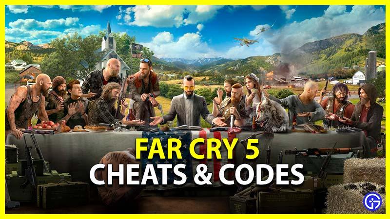 Far Cry 5 Cheats