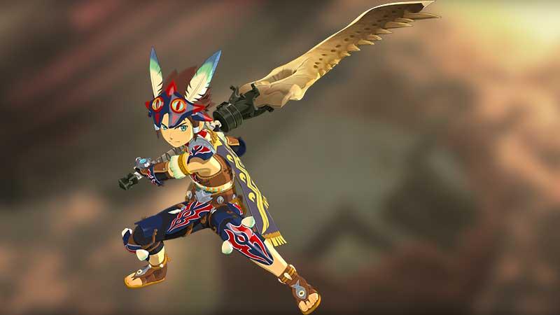 Great Sword Monster Hunter Stories 2