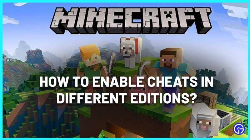 how to enable cheats in minecraft