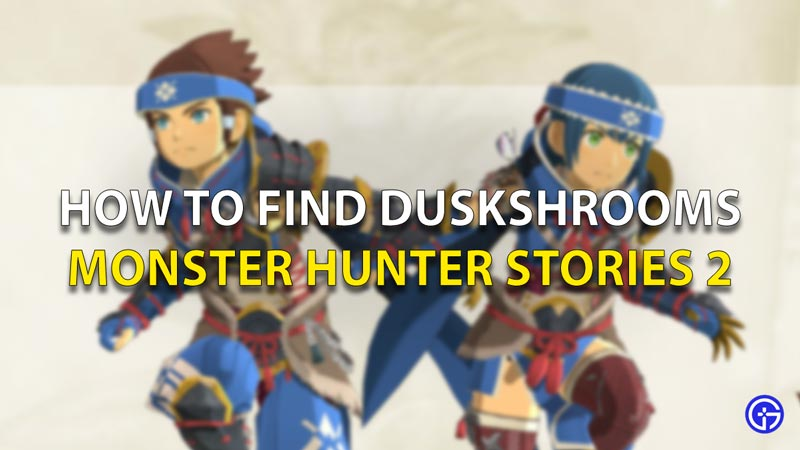 How To Find Duskshrooms Monster Hunter Stories 2