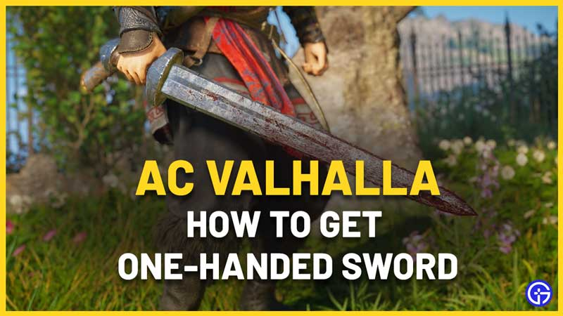 How to Unlock the One-Handed Sword in AC Valhalla