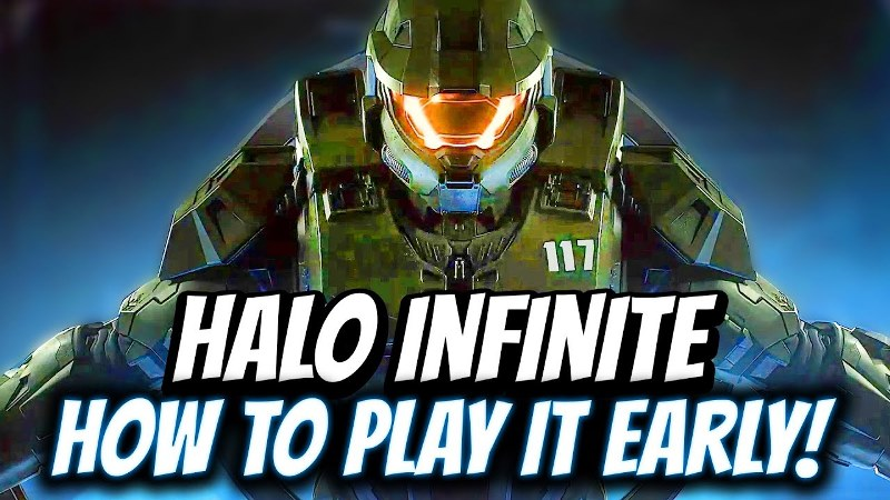 How To Play Halo Infinite Before Release