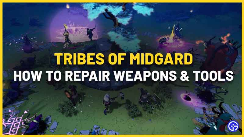 How To Repair In Tribes Of Midgard