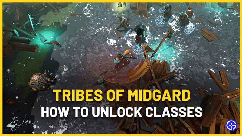 How To Unlock Classes In Tribes Of Midgard