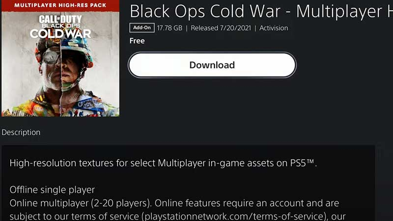 How to Download and InstallCold War High Resolution Texture Pack PS5