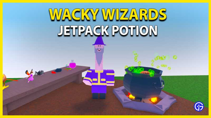 How to Get Jetpack Potion in Wacky Wizards Roblox