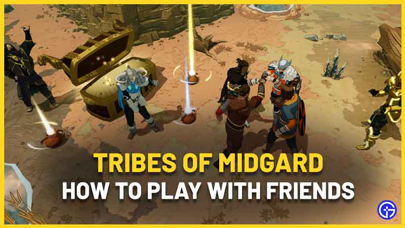 How to Play Tribes Of Midgard with Friends Coop