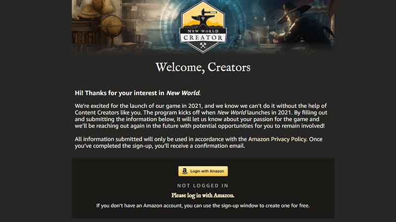 How to Sign up for the Creator Program