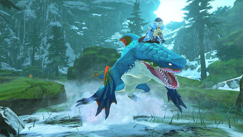 How to Swim in Monster Hunter Stories 2