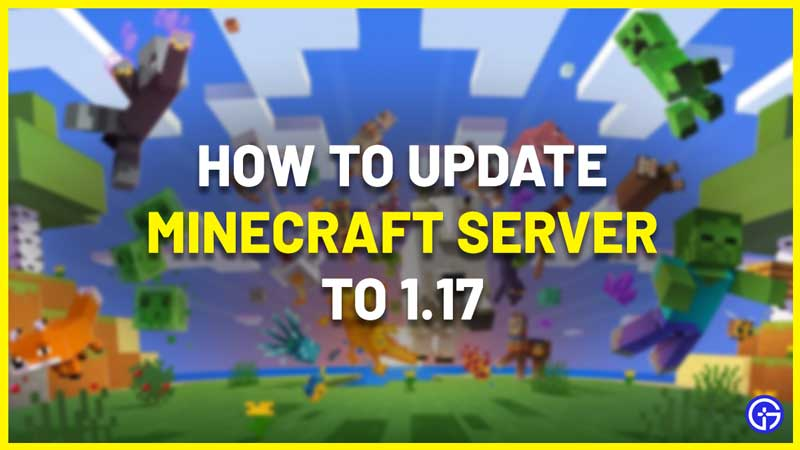Incompatible client, Please Use 1.17 update Minecraft server