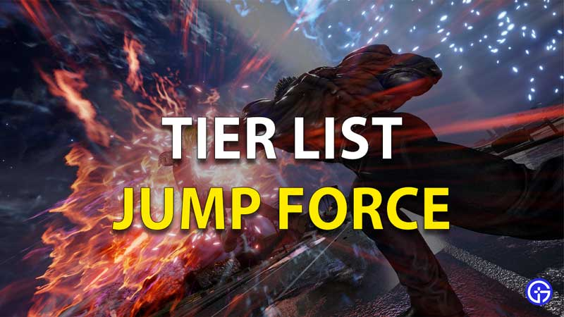 Jump Force Tier List