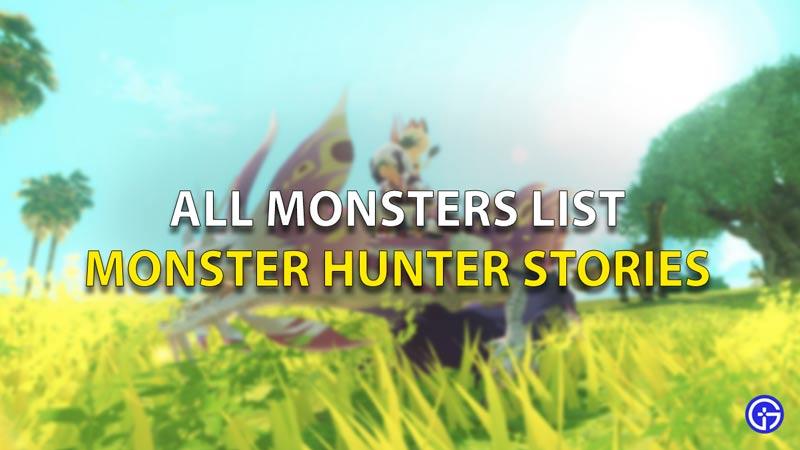 MHS 2 Monsters