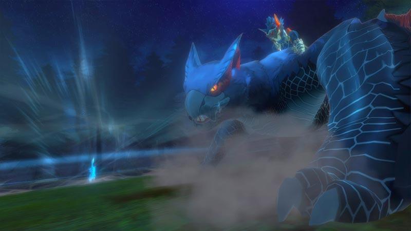 MHS 2 Nargacuga Monster Hunter Stories 2