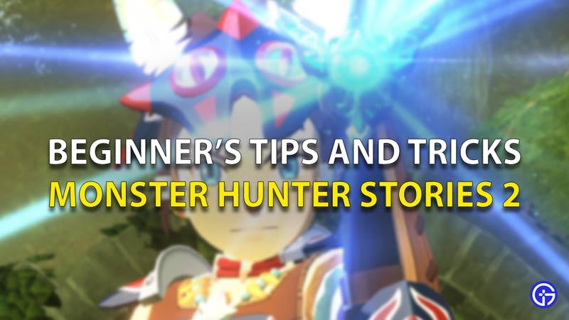 Monster Hunter Stories 2 Wings Of Ruin Beginner's Tips And Tricks
