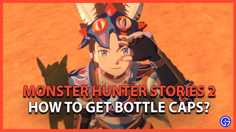 Monster Hunter Stories 2 Bottle Caps