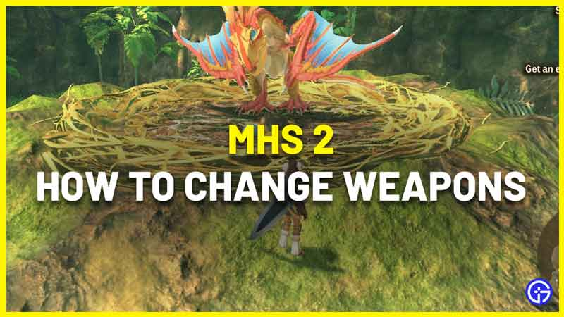 How To Change Weapons In Monster Hunter Stories 2