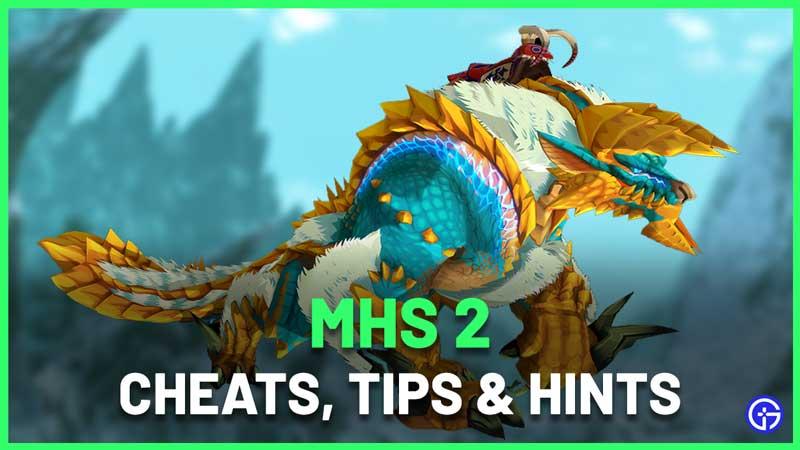 Monster Hunter Stories 2 Cheats, Secrets and Hints