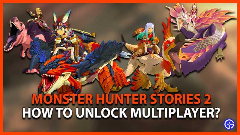 Monster Hunter Stories 2 Multiplayer