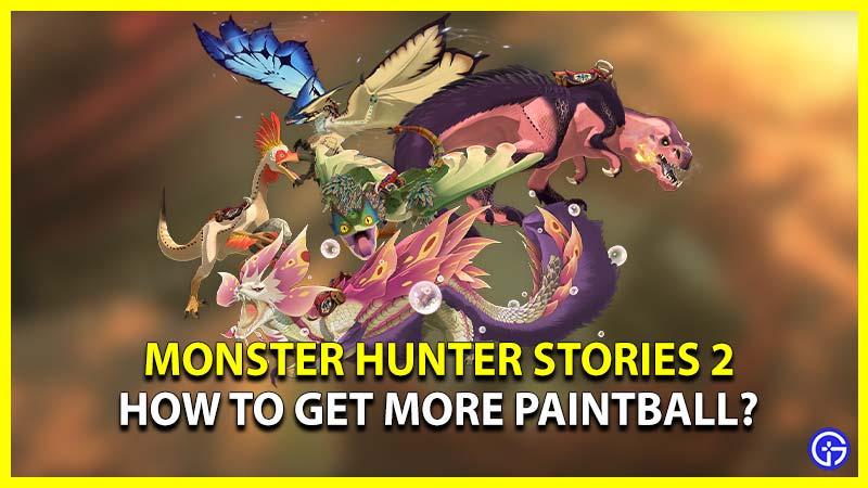 Monster Hunter Stories 2 Paintball