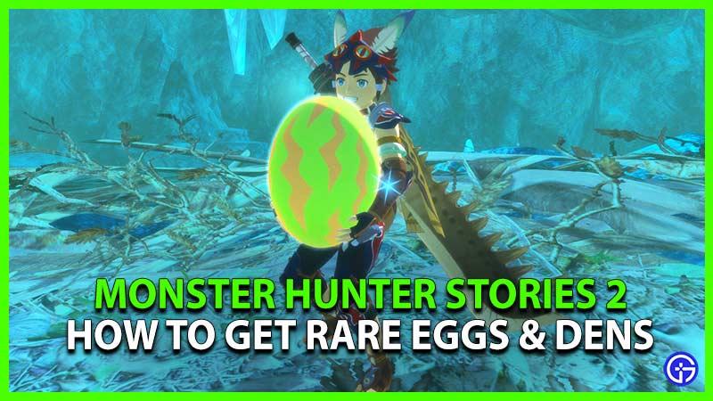 Monster Hunter Stories 2 Rare Eggs