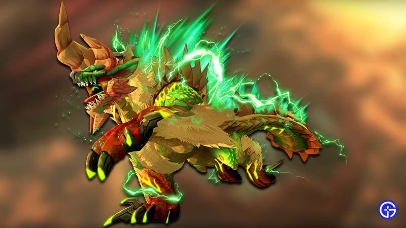 Deviant Monsters Monster Hunter Stories 2 Thunderlord Zinogre