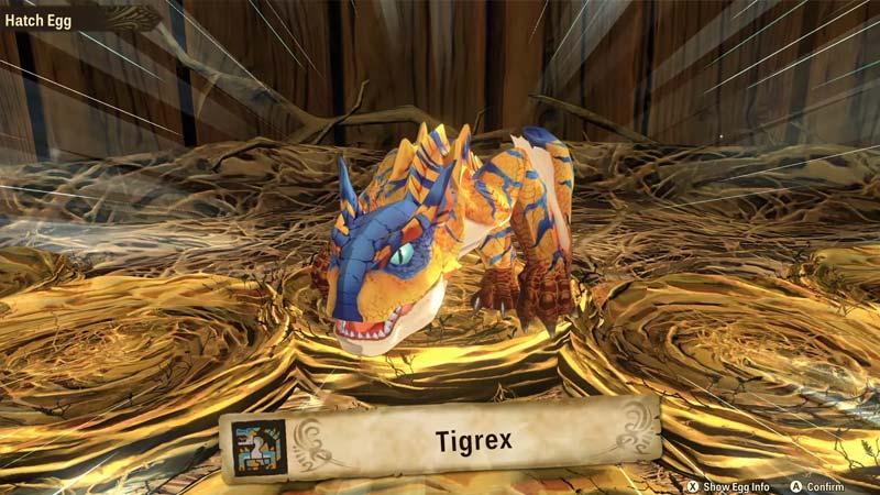 Monster Hunter Stories 2 Tigrex Egg