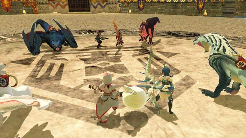 Monster Hunter Stories 2 Versus Battles play with friends