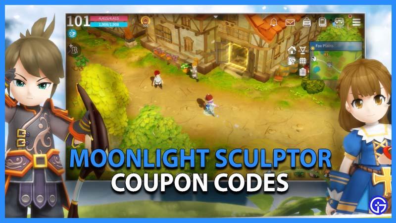 Moonlight Sculptor Codes