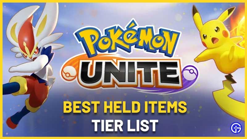 Pokemon Unite Held Item Tier List: Best Items To Use