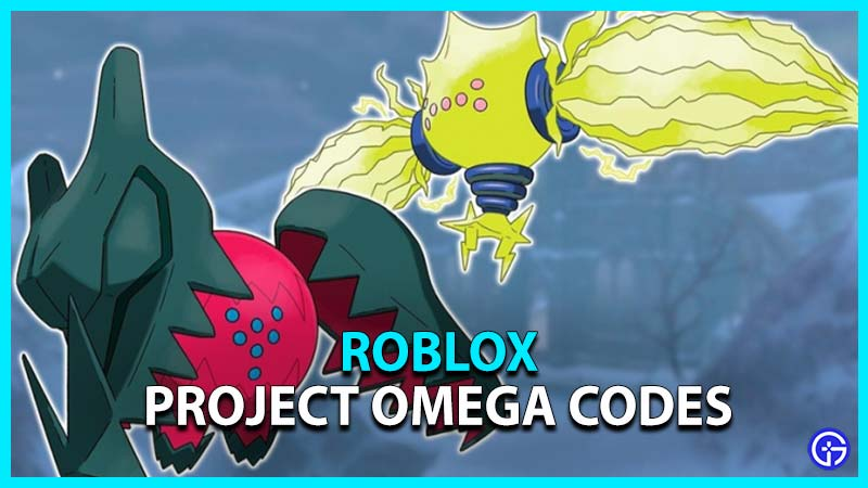 Project Omega Codes