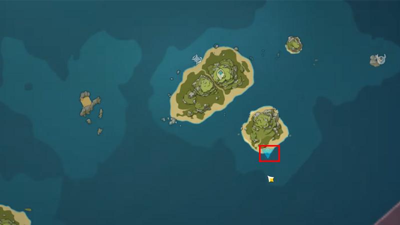 Pudding Isle Location 2