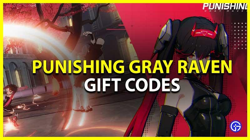 Punishing Gray Raven Gift Codes