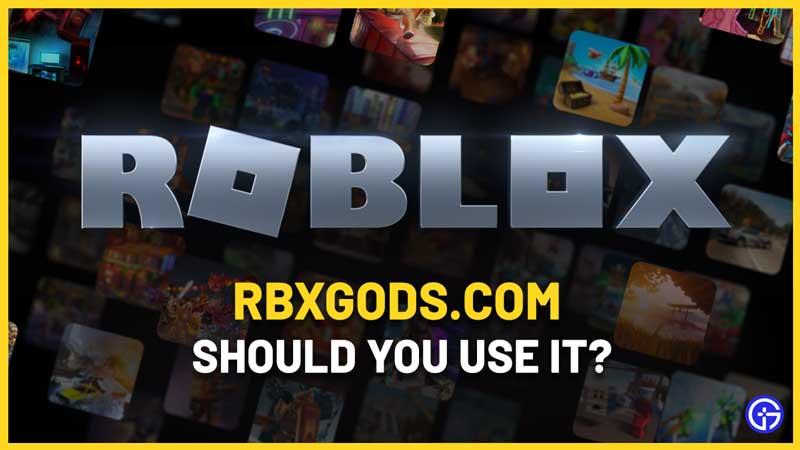 Rbxgods.com Free Robux Generator